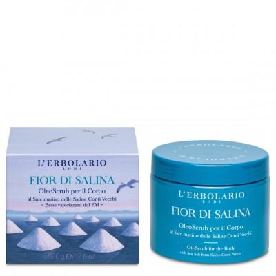 OleoScrub per il Corpo Fior di Salina