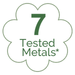7 Tested metals